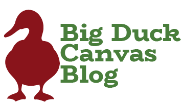 Big Duck Canvas